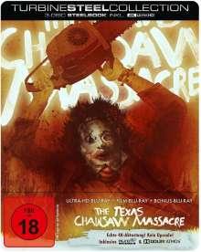 Texas Chainsaw Massacre (Ultra HD Blu-ray & Blu-ray im Steelbook), 1 Ultra HD Blu-ray und 2 Blu-ray Discs
