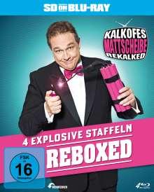 Kalkofes Mattscheibe - Rekalked! Staffel 1-4 (SD on Blu-ray), 4 Blu-ray Discs
