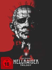 Hellraiser Trilogy (Collector's Edition) (Digipak), 5 DVDs