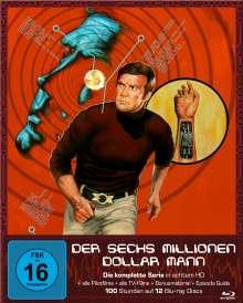 Der Sechs Millionen Dollar Mann (Komplette Serie) (Blu-Ray), 12 Blu-ray Discs