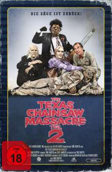 The Texas Chainsaw Massacre 2 (Limited Collector's Edition im VHS-Design) (Blu-ray & DVD), 1 Blu-ray Disc und 1 DVD