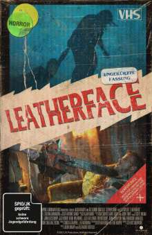 Leatherface (Limited Collector's Edition im VHS-Design) (Blu-ray & DVD), Blu-ray Disc