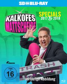 Kalkofes Mattscheibe Specials 2017 & 2018 (SD on Blu-ray), Blu-ray Disc