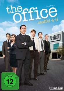 The Office (US) Season 4-6, 12 DVDs