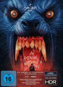 An American Werewolf in London (Ultimate Edition) (Ultra HD Blu-ray, Blu-ray & CD), 1 Ultra HD Blu-ray, 2 Blu-ray Discs und 1 CD