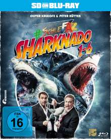 #SchleFaZ - Sharknado 1-6 (SD on Blu-ray), 2 Blu-ray Discs
