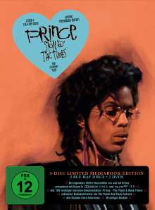 """Prince - Sign """"O"""" the Times (Limited Edition) (Blu-ray & DVD im Mediabook), 2 Blu-ray Discs and 2 DVDs"""