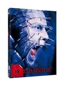 Hellraiser 3 - Hell on Earth (Blu-ray & DVD im Mediabook), 1 Blu-ray Disc und 1 DVD