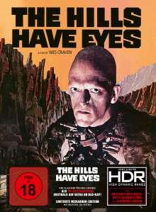 The Hills Have Eyes (1977) (Ultra HD Blu-ray & Blu-ray im Mediabook), 1 Ultra HD Blu-ray und 1 Blu-ray Disc