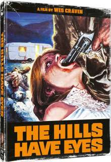 The Hills Have Eyes (1977) (Blu-ray & DVD im Mediabook), 1 Blu-ray Disc und 1 DVD