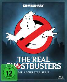 The Real Ghostbusters (Komplette Serie) (SD on Blu-ray), 3 Blu-ray Discs
