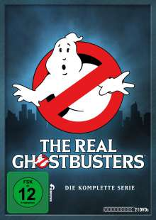 The Real Ghostbusters (Komplette Serie), 21 DVDs