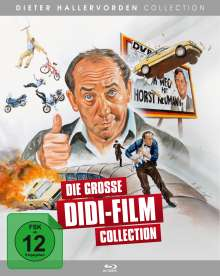 Die grosse Didi-Film Collection (Blu-ray), 7 Blu-ray Discs