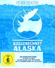 Ausgerechnet Alaska (Komplette Serie) (SD on Blu-ray), 5 Blu-ray Discs