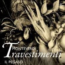 Claudio Monteverdi (1567-1643): Monteverdi Travestimenti, CD