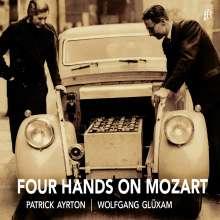 Wolfgang Amadeus Mozart (1756-1791): Werke für Klavier 4-händig, CD