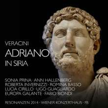 Francesco Maria Veracini (1690-1768): Adriano in Siria, 3 CDs