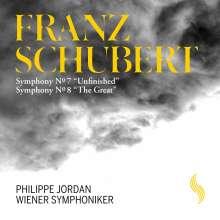 Franz Schubert (1797-1828): Symphonien Nr.8 & 9, CD
