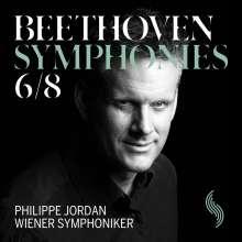Ludwig van Beethoven (1770-1827): Symphonien Nr.6 & 8, CD