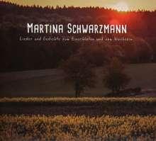 Martina Schwarzmann: Lieder & Gedichte zum Einschlafen und vom Wachsein, CD