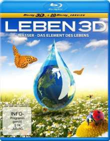Wasser - Das Element des Lebens  (2D & 3D Blu-ray), Blu-ray Disc