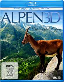 Alpen (3D Blu-ray), Blu-ray Disc