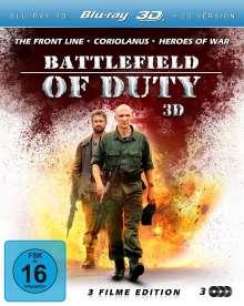 Battlefield of Duty (3D Blu-ray), 3 Blu-ray Discs