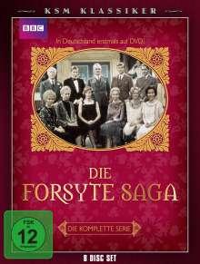 Die Forsyte Saga (Komplette Serie), 8 DVDs