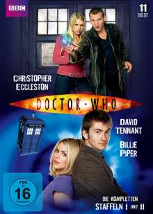 Doctor Who - Die kompletten Staffeln 1 & 2, 11 DVDs