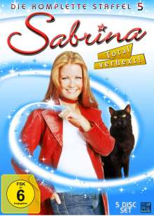 Sabrina - Total verhext Staffel 5, 4 DVDs