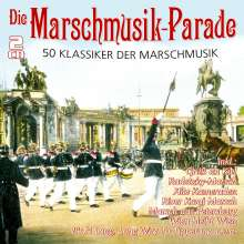 Die Marschmusik-Parade - 50 Klassiker, 2 CDs