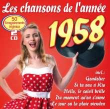 Les Chansons De L'Annee 1958, 2 CDs