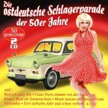 Die ostdeutsche Schlagerparade der 50er Jahre, 2 CDs