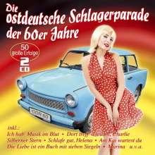 Die ostdeutsche Schlagerparade der 60er Jahre, 2 CDs