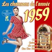 Les Chansons De L'Année 1959, 2 CDs