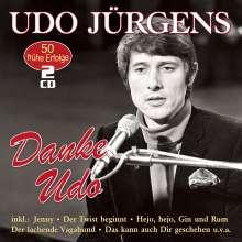 Udo Jürgens: Danke Udo: 50 frühe Erfolge, 2 CDs