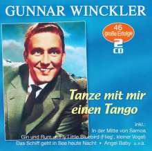 Gunnar Winckler: Tanze mit mir einen Tango: 46 große Erfolge, 2 CDs