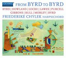 Friederike Chylek - From Byrd to Byrd, CD
