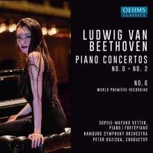 Ludwig van Beethoven (1770-1827): Klavierkonzerte Nr.0,2,6, CD