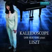 "Franz Liszt (1811-1886): Klavierwerke ""Kaleidoscope"", CD"