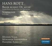 Hans Rott (1858-1884): Lieder-Reise für Bariton & Orchester, CD