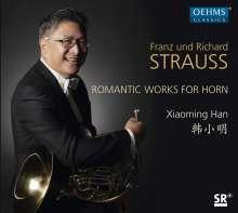 Xiaoming Han - Franz und Richard Strauss, CD