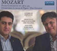 Wolfgang Amadeus Mozart (1756-1791): Klavierkonzerte Nr.6 & 13, CD