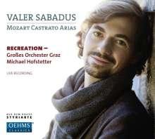 Valer Sabadus - Mozart Castrato Arias, CD