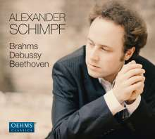 Alexander Schimpf - Brahms / Debussy / Beethoven, CD