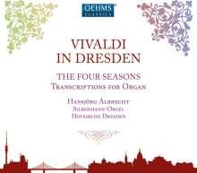 """Antonio Vivaldi (1678-1741): Concerti op.8 Nr.1-4 """"Die vier Jahreszeiten"""" für Orgel, CD"""