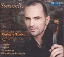 Rudens Turku & Friends - Souvenirs, CD