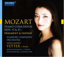 Wolfgang Amadeus Mozart (1756-1791): Klavierkonzerte Nr.17 & 27, CD