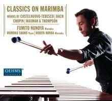 Fumito Nunoya - Classics On Marimba, CD