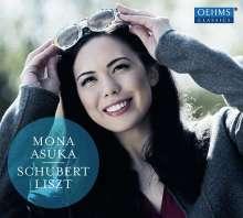 Mona Asuka - Schubert / Liszt, CD